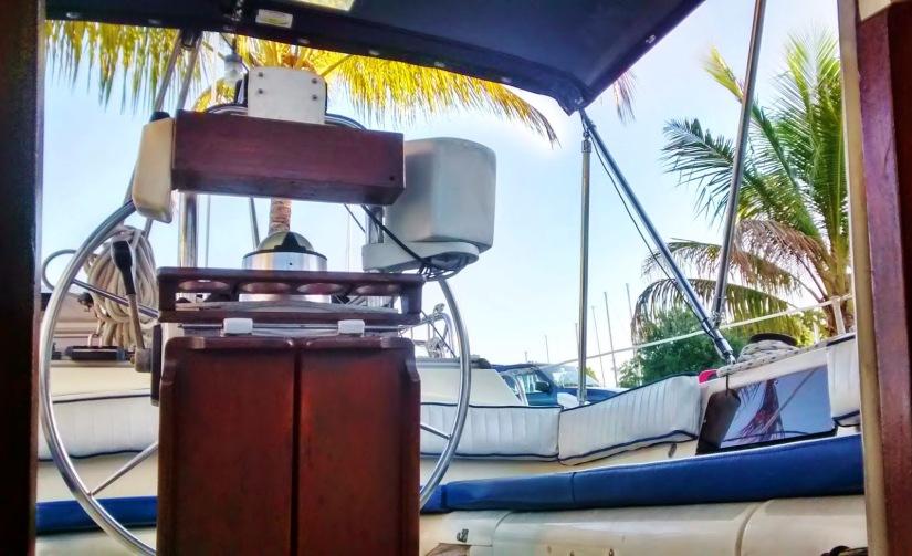 Moody Blue Cockpit