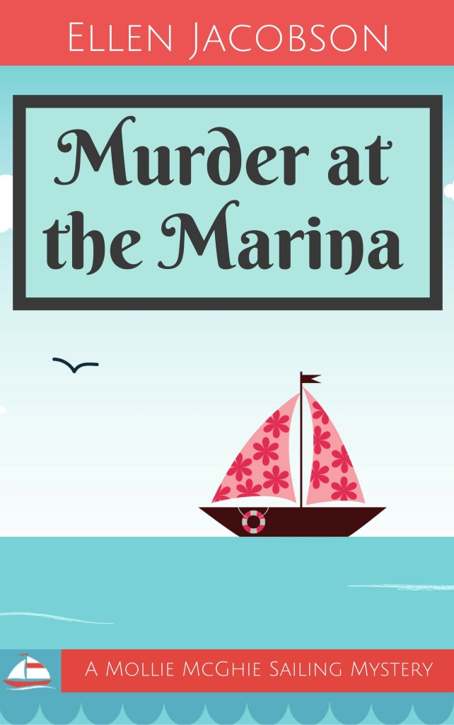 Murder at the Marina book cover