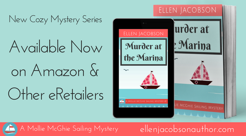 Murder at the Marina Banner - Available Now