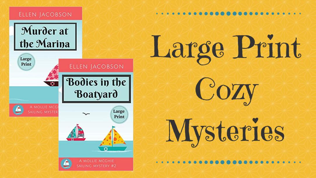 Large Print Cozy Mysteries